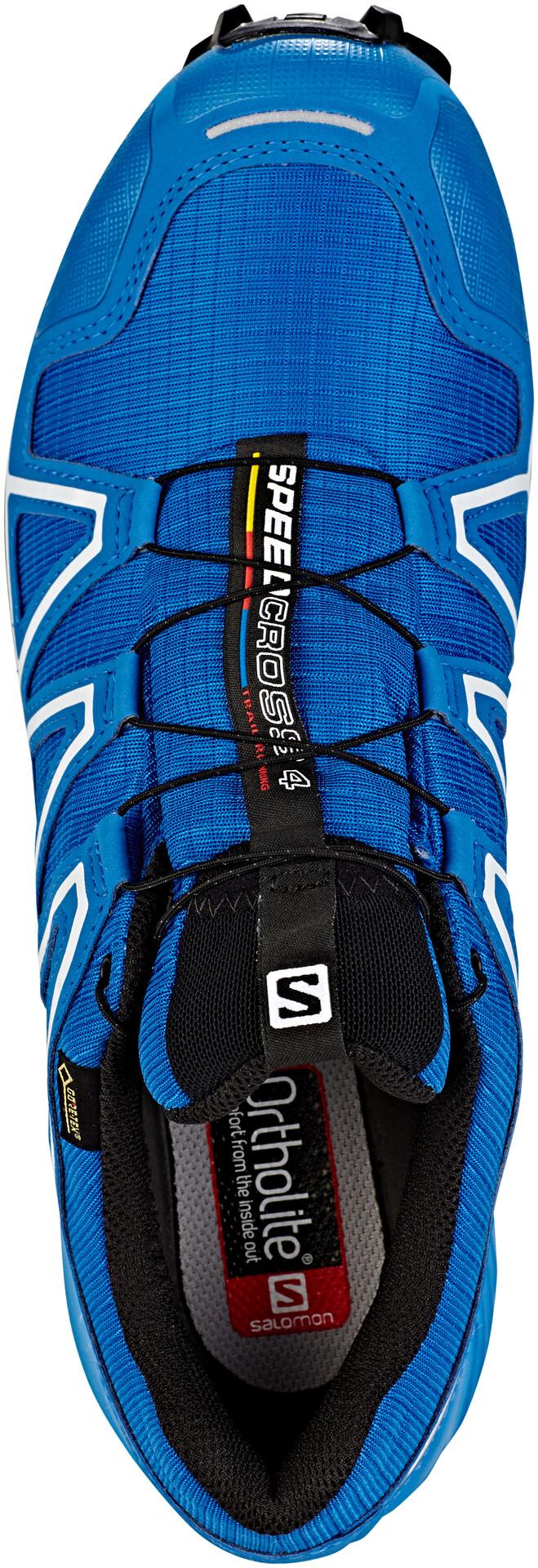 Salomon Speedcross 4 GTX Shoes Herre sky diverindigo buntingblack